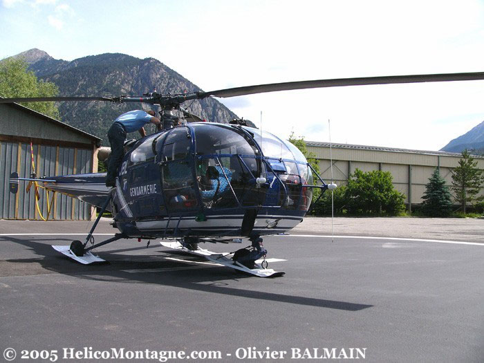 Alouette III SA319 DAG de Briançon