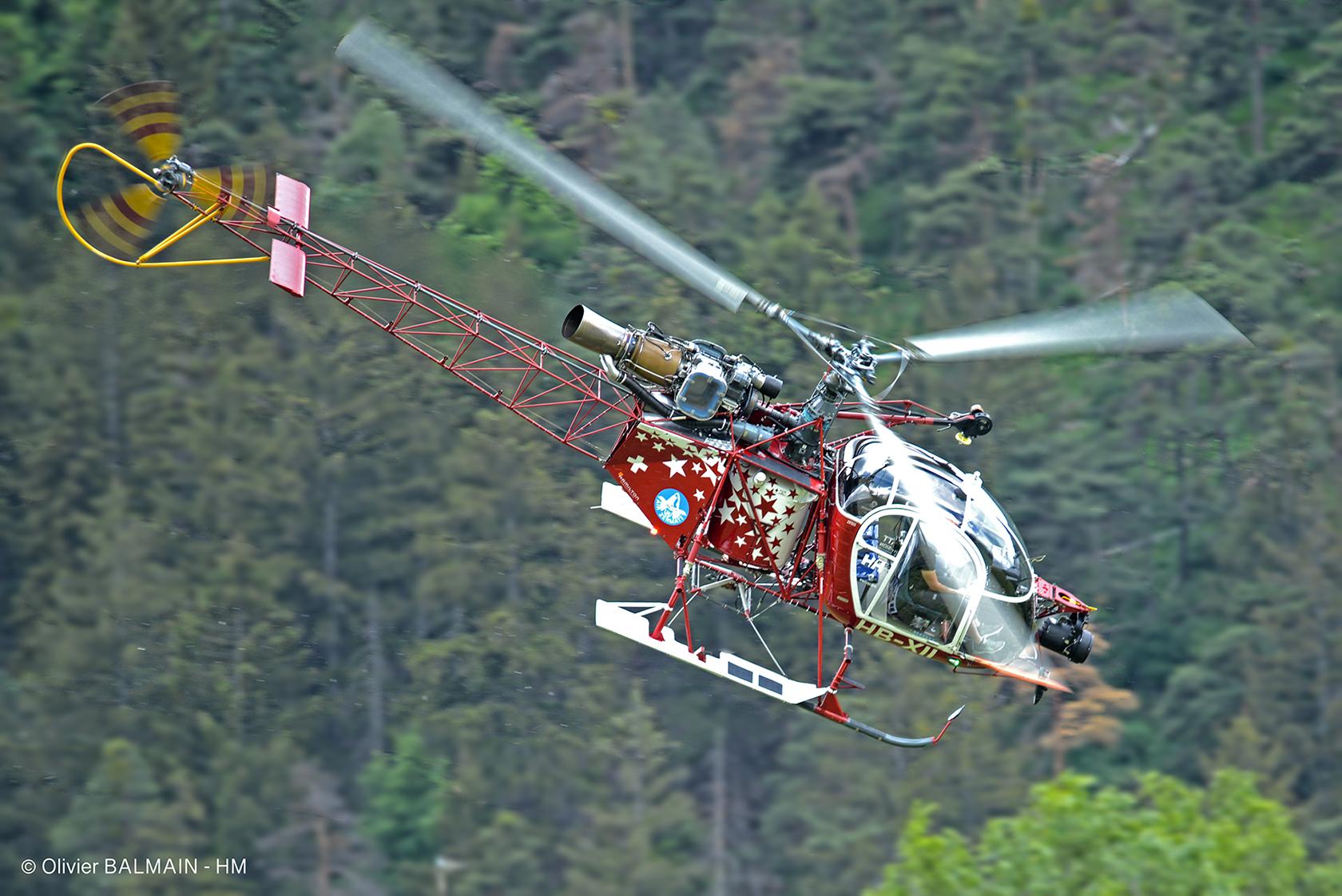 LAMA SA315 B Air Zermatt - © Olivier BALMAIN