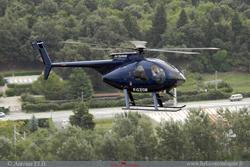 MD500 F-GZGM Jet system helicopter services région de Valence