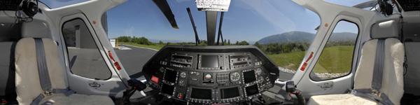 Visite virtuelle hélicoptère AGUSTA Leonardo A109 VIP