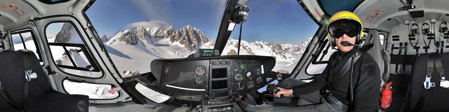 Visite virtuelle hélicoptère H125 CMBH Pascal Brun vue a couper le souffle