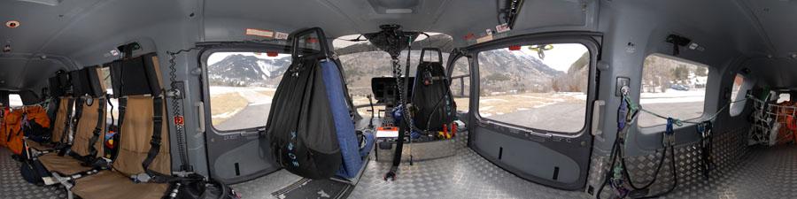 visite virtuelle 360 hlicoptre choucas gendarmerie