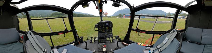 360° visite virtuelle hélicoptère Gazelle SA342 M