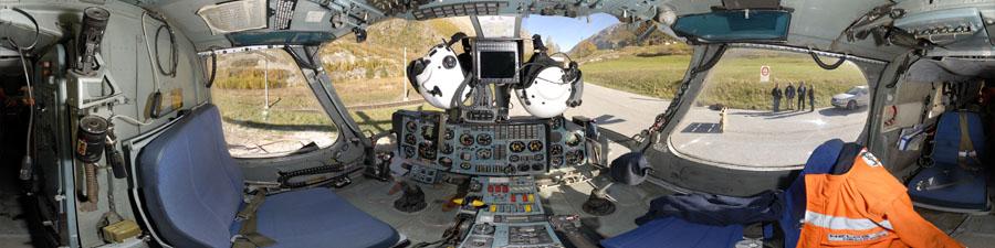Visite virtuelle cockpit KAMOV KA 32 visite 360°