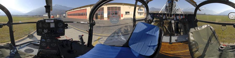 Visite virtuelle cockpit LAMA 315B Air Glacier