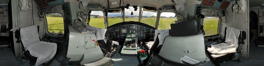 Hélicoptère Russe MIL MI 26 T visite 360° du cockpit plus gros du monde