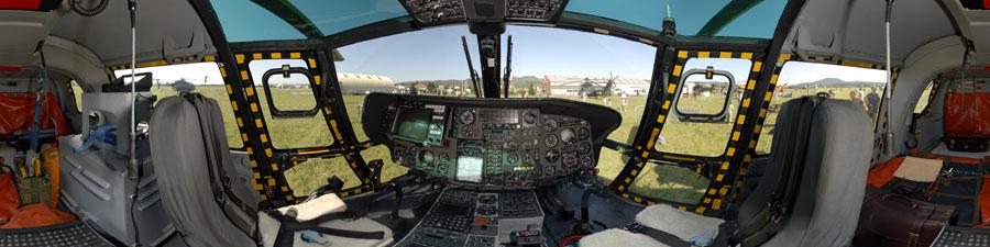 Visite virtuelle hélicoptère marine française Panther AS 565