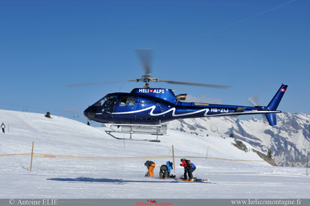 Eurocopter AS 350 B2 Helialps