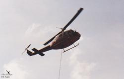 BELL 205 A1 C-FHVX / AVIAGRI / Argentière 74 France