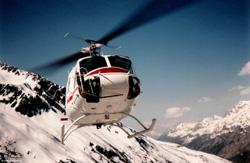 BELL 205 AVIAGRIS Le tour Chamonix 74