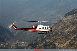 BELL 214 B1 F-GFUT Heliglobe FINET France - La Praz