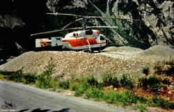 KAMOV  KA32 C Heliglobe finet - RA31015 - Beaune Vallée de la Maurienne 73 - France