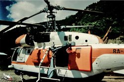 KAMOV  KA32 C Heliglobe finet - RA-1015 - Beaune Vallée de la Maurienne 73 - France