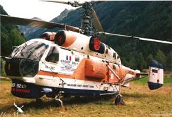 KAMOV  KA32 C Heliglobe finet - RA31015 - St-Bonnet-en-Champsaur - France
