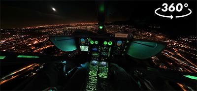 Visite virtuelle hélicoptère
