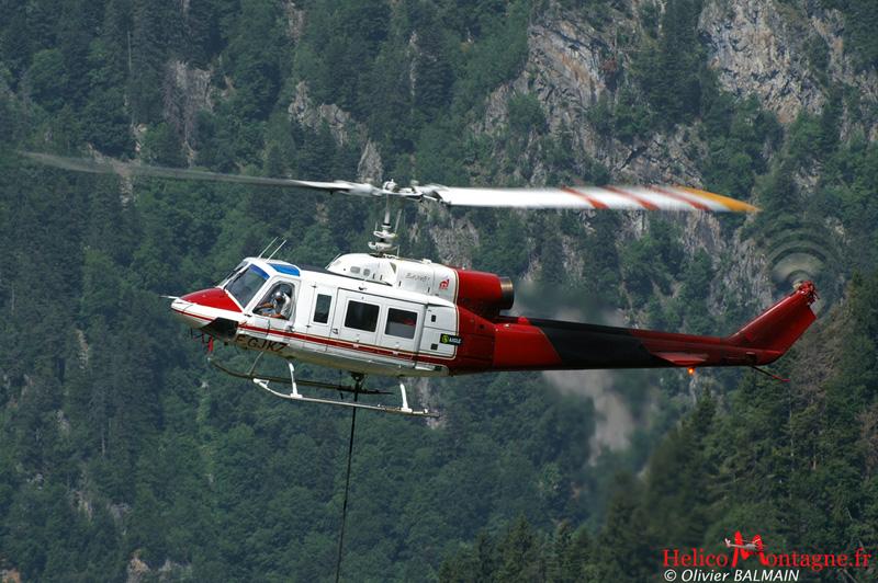 BELL 214 B1 F-GJKZ SAF Helicoptere Isère 38 2006