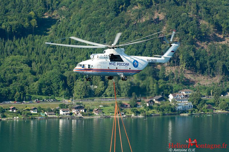 MIL MI 26 T Suisse Lac Léman 2009