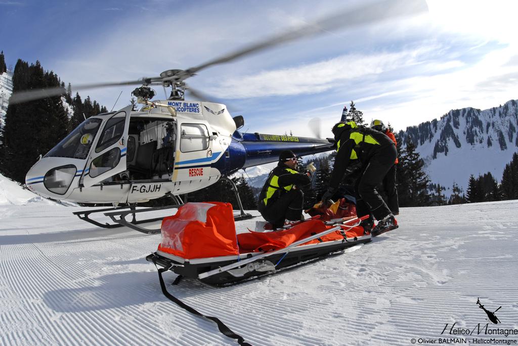 AS350 B2 Secours Haute-Savoie - Station Chalais