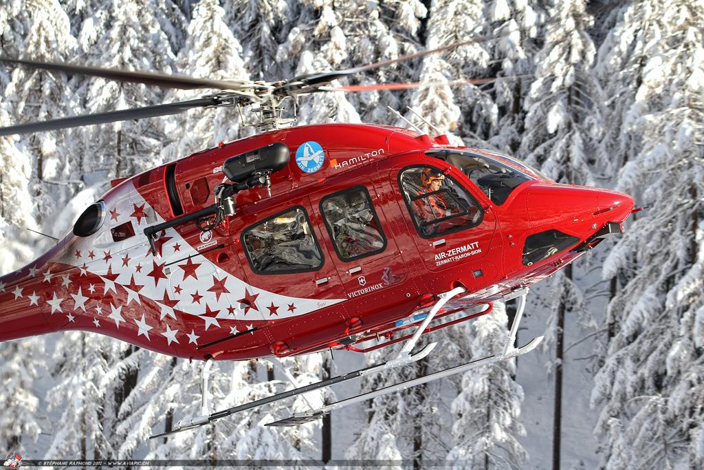 BELL 429 Air Zermatt Secours en montagne les nouveau hélicoptère de secours