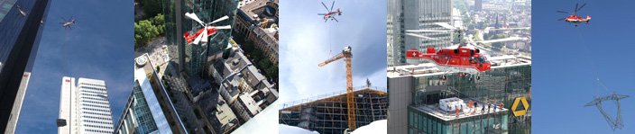 Hélitreuillage heli-treuillage, levage rooftop, montage de grue, paneau solaire, cliamtisateur, tour de refroidissement, tous les héliportage sont possible