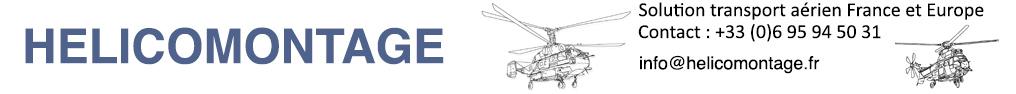 Logo Helicomontagne Heliswiss International - Héliportage par hélicoptère lourd FRANCE et Monde, héliportage et transport de charge en france