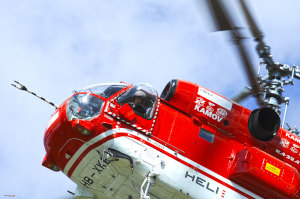 heliportage hélicoptère kamov ka32 montage et transport de charge France