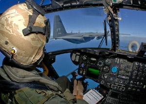 Ravitaillement en vol d'un CH53