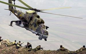Hind Mil Mi-24 russian army