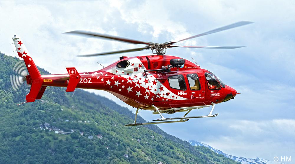 BELL 429 HB-ZOZ Air Zermatt  2eme machine de ce type dans la flotte air zermatt