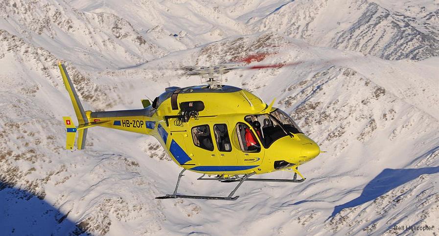 BELL 429 nouvelle hélicoptère de secours chez heliand Pyrénées