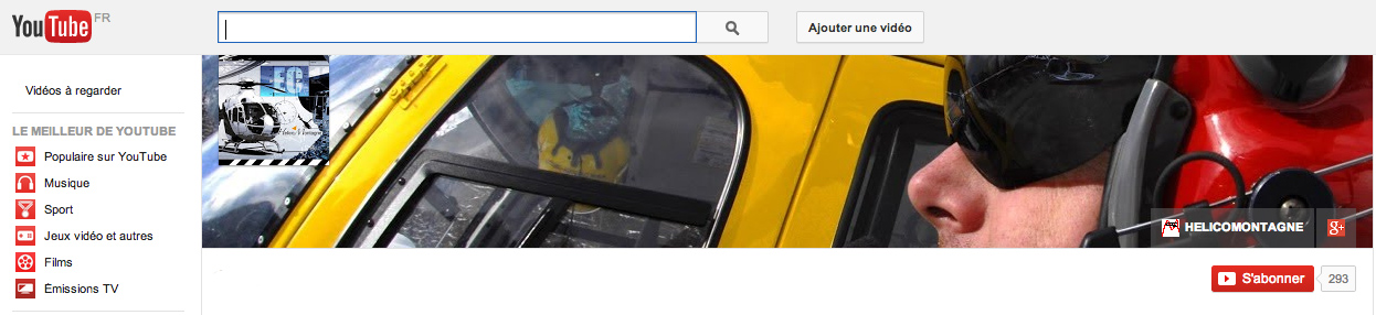 Chaine Youtube Helicomontagne