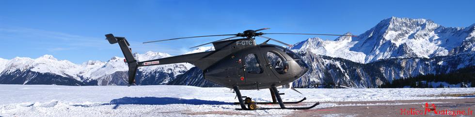 MD 500 e F-GTCT - Heliport Courchevel