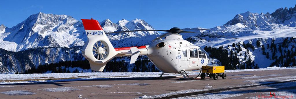 EC135 T2 Secour - Heliport Courchevel