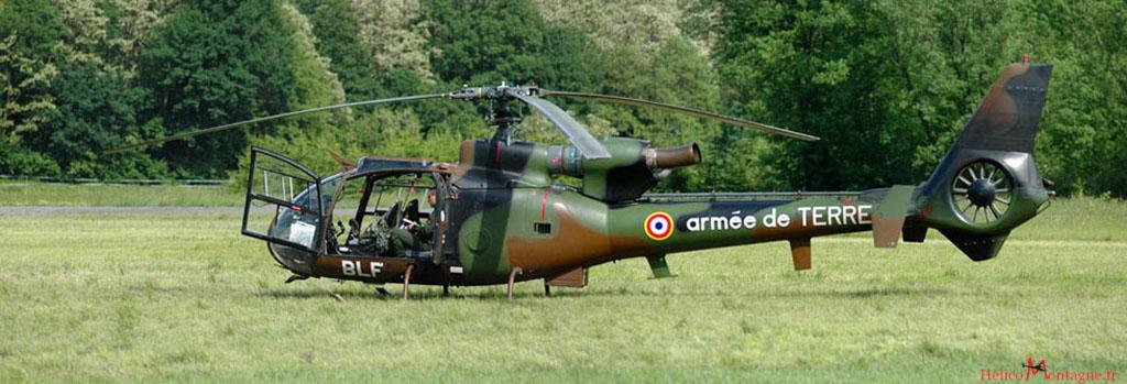 Gazelle SA 342 M Armée de Terre - Albertville