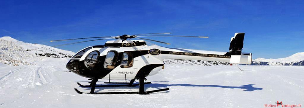 MD 600 N Air Luxury - Heliport Courchevel