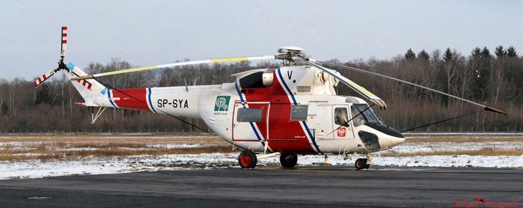 PZL W-3AS Secour - Besançon La Veze