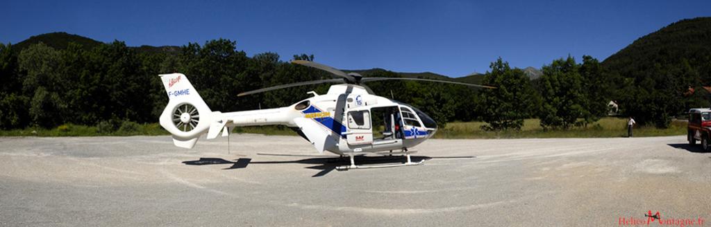 EC 135 T1 Samu - Region de Gap