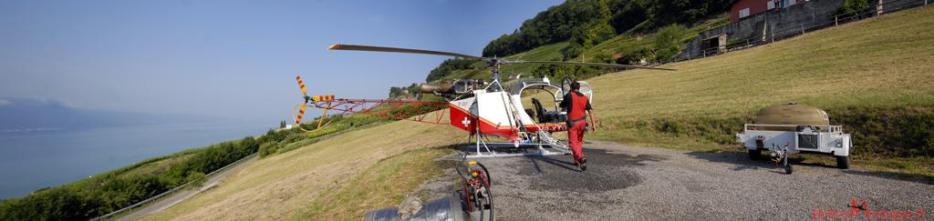 SA 315 B Air Glaciers - Chardonne Suisse
