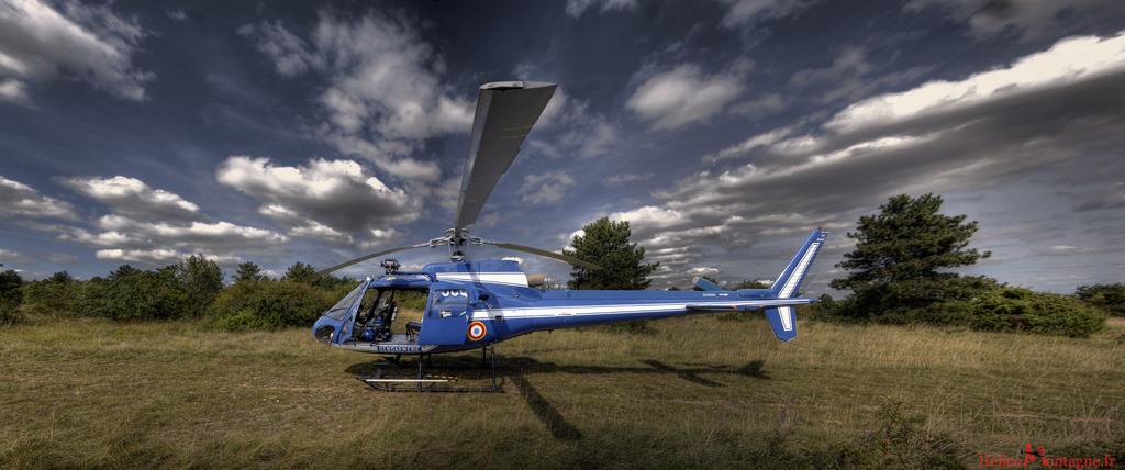 AS 350 BA Section aérienne Gendarmerie - Dijon