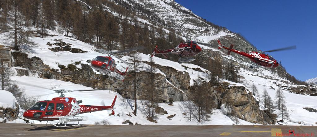 AS 350 B3 Air Zermatt - Zermatt