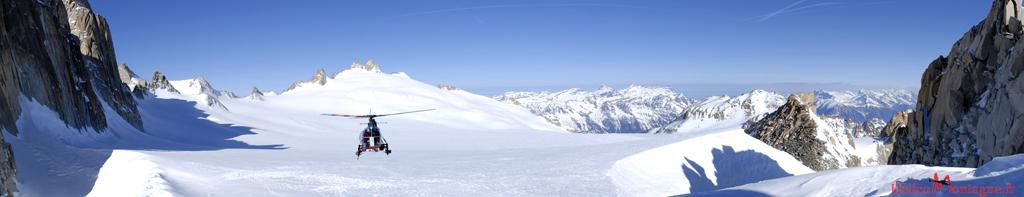 SA 315 B Lama Air Glaciers - Trient