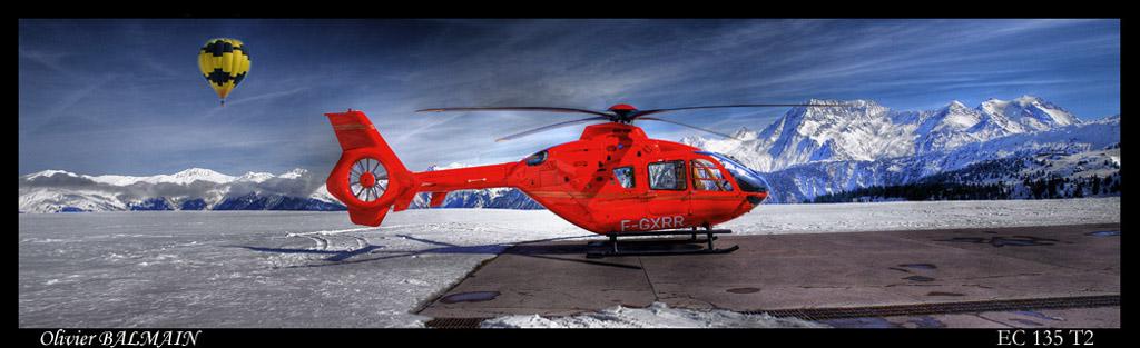 EC 135 T2 version HDR