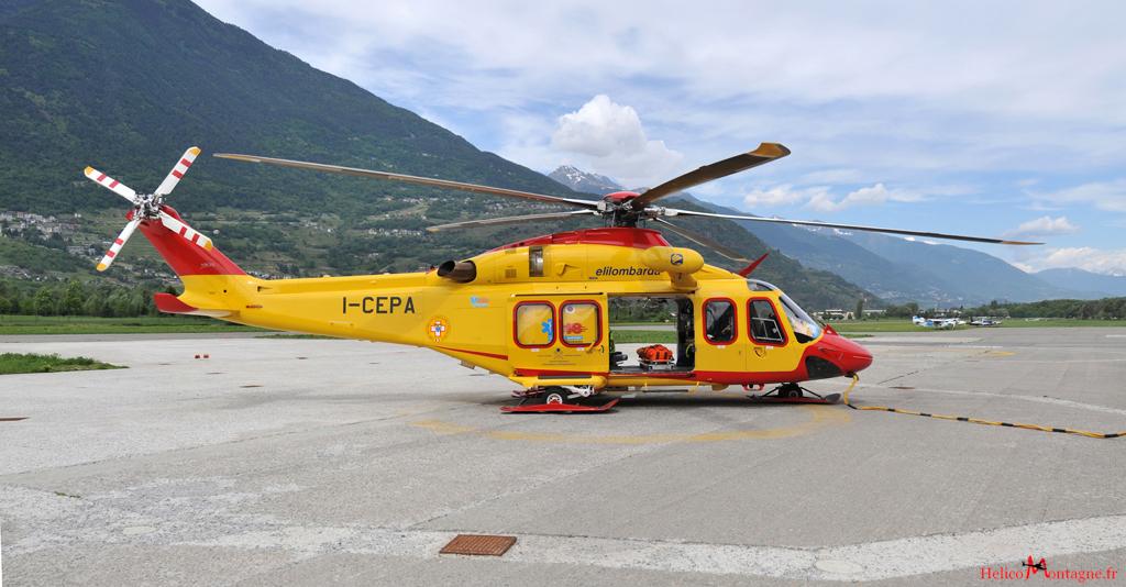 Agusta / Westland AB 139 Elilombarda - Sondrio , Italie