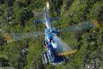 F-MJBE hélicoptère de secours PGHM de Modane
