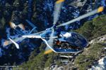F-MJBE Choucas 73 hélicoptère de secours en montagne PGHM de Modane