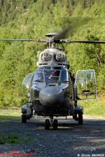 Hélicoptère Super Puma AS 332 C1 Eagle Hélicoptère au décollage