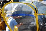 Le pilote du F-HCRB de la société Pagés Hélicoptère va commencer ces rotations