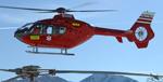 MBH Hélicoptères Avoriaz - EC135 T2 de retour sur la base d'Avoriaz