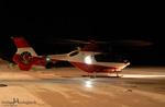 SAF Hélicoptères Base secours Courchevel - Retour d'un secours de nuit pour le PG