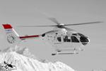 EC135 T1 . F-GMTU . Hélicoptère de secours société SAF hélicoptères. Machine ex ADAC